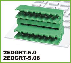 高正 2EDGRT-5.0/5.08 PCB插拔式接线端子台