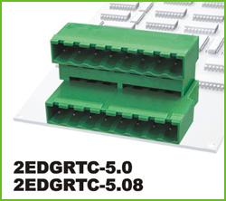 高正 2EDGRTC-5.0/5.08 PCB插拔式接线端子台