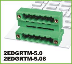 高正 2EDGRTM-5.0/5.08 PCB插拔式接线端子台