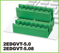 高正 2EDGVT-5.0/5.08 PCB插拔式接线端子台