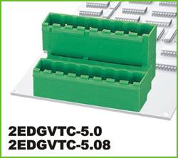 高正 2EDGVTC-5.0/5.08 PCB插拔式接线端子台