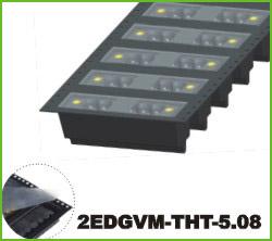 高正 2EDGVM-THT-5.08 PCB插拔式接线端子台
