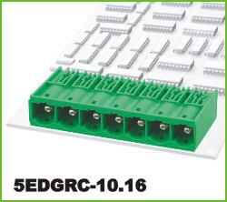 高正 5EDGRC-10.16 PCB插拔式接线端子台