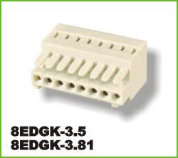 高正 8EDGK-3.5/3.81 PCB插拔式接线端子台