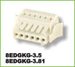 高正 8EDGKG-3.5/3.81 PCB插拔式接线端子台