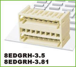 高正 8EDGRH-3.5/3.81 PCB插拔式接线端子台