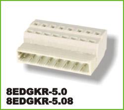 高正 8EDGKR-5.0/5.08 PCB插拔式接线端子台