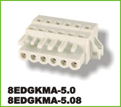高正 8EDGKMA-5.0/5.08 PCB插拔式接线端子台