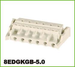 高正 8EDGKGB-5.0 PCB插拔式接线端子台