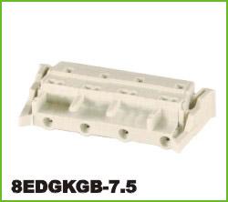 高正 8EDGKGB-7.5 PCB插拔式接线端子台