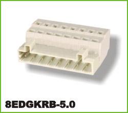 高正 8EDGKRB-5.0 PCB插拔式接线端子台
