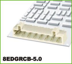 高正 8EDGRCB-5.0 PCB插拔式接线端子台
