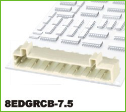 高正 8EDGRCB-7.5 PCB插拔式接线端子台