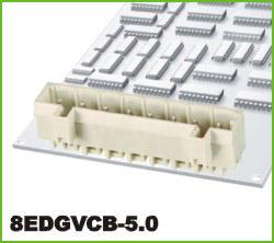 高正 8EDGVCB-5.0 PCB插拔式接线端子台