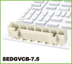 高正 8EDGVCB-7.5 PCB插拔式接线端子台