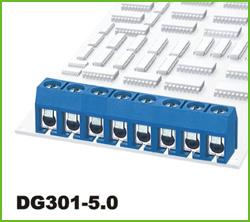 高正 DG301-5.0 PCB螺钉式接线端子台