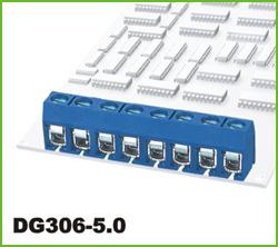 高正 DG306-5.0 PCB螺钉式接线端子台