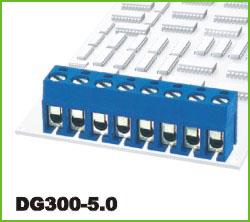 高正 DG300-5.0 PCB螺钉式接线端子台