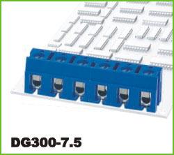 高正 DG300-7.5 PCB螺钉式接线端子台