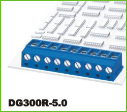 高正 DG300R-5.0 PCB螺钉式接线端子台