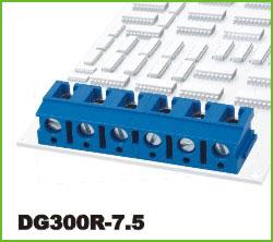 高正 DG300R-7.5 PCB螺钉式接线端子台