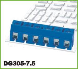 高正 DG305-7.5 PCB螺钉式接线端子台
