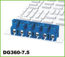 高正 DG360-7.5 PCB螺钉式接线端子台