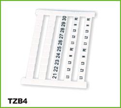 高正 TZB4 端子台标示条
