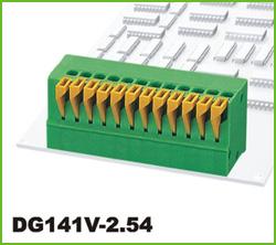 高正 DG141V-2.54 PCB弹簧式接线端子