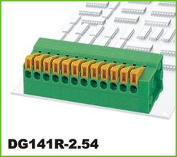 高正 DG141R-2.54 PCB弹簧式接线端子