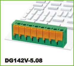 高正 DG142V-5.08 PCB弹簧式接线端子