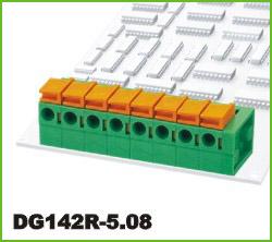 高正 DG142R-5.08 PCB弹簧式接线端子