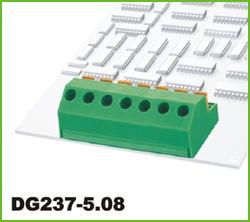 高正 DG237-5.08 PCB弹簧式接线端子