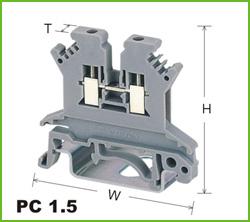 高正 PC1.5 导轨式端子台