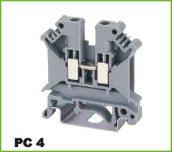 高正 PC4 导轨式端子台
