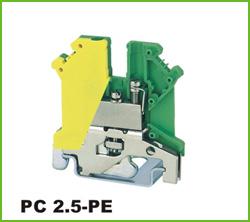 高正 PC2.5-PE 导轨式端子台