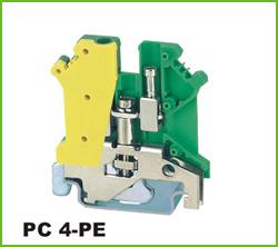 高正 PC4-PE 导轨式端子台