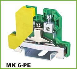 高正 MK6-PE 导轨式端子台