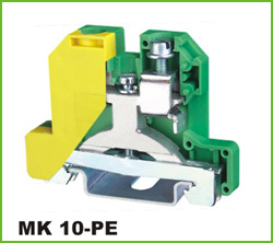 高正 MK10-PE 导轨式端子台