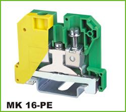 高正 MK 16-PE 导轨式端子台