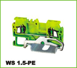 高正 WS 1.5-PE 导轨式端子台