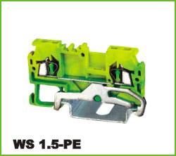 高正 D-WS1.5/2.5/4/6/10/16 导轨式端子台