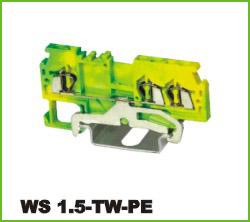 高正 WS 1.5-TW-PE 导轨式端子台