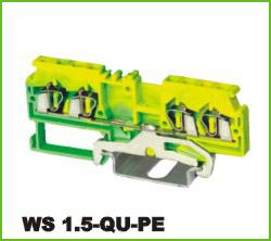 高正 WS 1.5-QU-PE 导轨式端子台