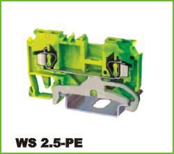 高正 WS 2.5-PE 导轨式端子台