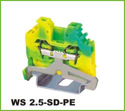 高正 WS 2.5-SD-PE 导轨式端子台