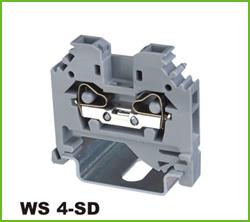 高正 WS 4-SD 导轨式端子台