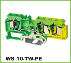 高正 WS 10-TW-PE 导轨式端子台