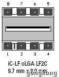 创意电子   IC-Haus iC-LF1402 光传感器和发射器