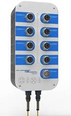 卓越信通 Titan410系列 IP67三層工業以太網交換機